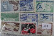 Chile. 100 stamps in packet.