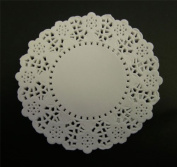 White 22cm Paper Doilies - Pack of 250