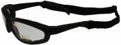 Pacific Coast Freedom Padded Riding Sunglasses with Detacheable Strap