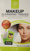 Absolute Makeup Cleansing Tissues 132 Tissues 4 -33 Ct.per Pack