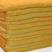 Ghp 192 Gold Microfiber Towel Polish Cleaning Cloths Bulk