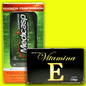 Medicasp Shampoo + Vitamin E Soap for a Beautiful Hair and Skin Double Benefit