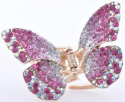 HP300 Retro Butterfly Hair Claw Clip Hair Accessories For Women Girls