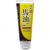 Loshi Horse Oil Cleaning Foam (130g) Japan Import