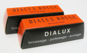 RED ROUGE DIALUX RED POLISHING COMPOUND GOLD POLISH 2pc