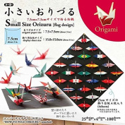 100 Sheet Japanese 7.6cm Orizuru Crane National Flag Origami Folding Artwork Papers