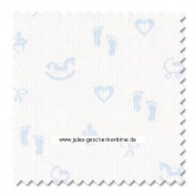 Zweigart 14ct Baby Aida-46cm x 50cm Needlework Fabric - Blue