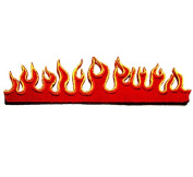 Fire Flame Embroidered Iron on Patch for Motorcycle