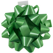 JAM Paper® Extra Large Gift Bows - 20cm - Green - Sold Individually