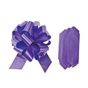 Purple Wedding Pull Bows