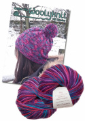 Cabled Hat Knitting Bundle Pack. Wool and Knitting Pattern Provided!