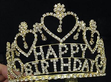Tiara Cake Topper Nz