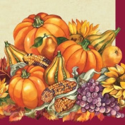 Fall Plenty Beverage Napkins 16 Per Pack