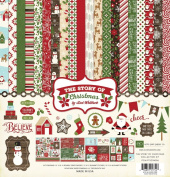 Echo Park Paper Company The Story of Christmas Collection Kit