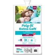 Bulk Buy: Fairfield Poly-Fil (4-Pack) Extra Loft Bonded Polyester Batting Queen Size 27mX33m FOB