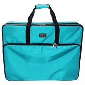 Tutto 70cm Embroidery Project Bag In Turquoise