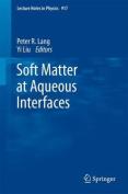 Soft Matter at Aqueous Interfaces