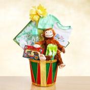 Monkey Business Baby Gift Basket