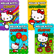 "Hello Kitty Board Books - Set of Four ""My First Books"" for Toddlers"