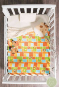 Siberia Jungle Crib Blanket