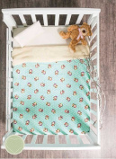 Siberia Little Monkey Crib Blanket