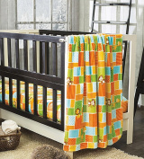Jungle Light Crib Blanket