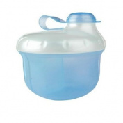 Nuby Milk Powder Dispenser, Blue