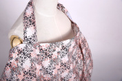 Nursing Cover for Breastfeeding From The Gigglebubs Provides Privacy While Nursing Discreetly in Public, Light Weight, Breathable & Adjustable with Open Neckline, Anti-kick & Terry Cloth Pockets Design, Includes Handy Pouch, Mums Must Have It Now!