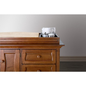 Eco Chic Baby Clover Changing Topper in Hickory Finish