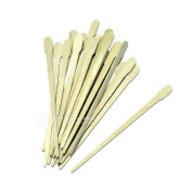 100 Small Wooden Waxing Applicator Sticks