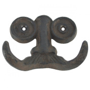 Nose Spectacles Moustache Face Wall Hook Key Towel Jewellery Hanger Steampunk Decor