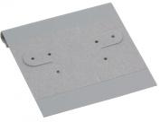 Hanging Earring Card - Grey Flock 2x2 (100-Pcs) Jewellery Display