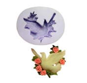 Dove Silicone Resin Clay Moulds Handmade Resin Mould Polymer Clay Mould
