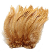 13cm - 18cm Rooster Hackle Coque Feathers for Crafting ~7.5g, 30ml