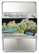 Royal & Langnickel Medium Tin Watercolour Pencil Art Set