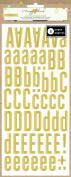 Crate Paper Maggie Holmes Confetti Gold Foil Alphabet Book