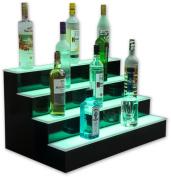 4 Tier LED Lighted Liquor Display