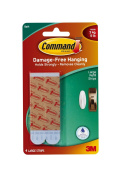 Command Large Water-Resistant Refill Strips, 4-Strip, 2 PACK
