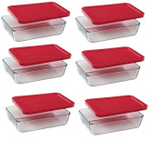 Pyrex 3-Cup Rectangle Food Storage Container