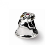 Reflection Beads Sterling Silver Bell Bead