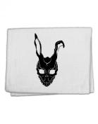 TooLoud Scary Bunny Face Black 28cm x 46cm Dish Fingertip Towel