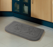 Grey Fruit Memory Foam Anti Fatigue Kitchen Floor Mat Rug Victoria Classics