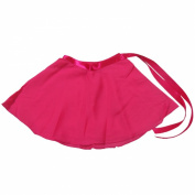 Demi Big Girls' Ballet Dance Wrap Skirt Chiffon DW006