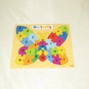 Pakhuis Children's Educational Toy Butterfly Puzzle
