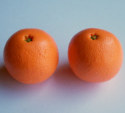 2 Oranges Fruit School Snack Set of 2 - Perfect for 46cm American Girl® Dolls