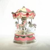 POPgifts Laxury Carousel Music Box,Crown Design