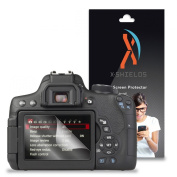 XShields© (3-Pack) Screen Protectors for Canon EOS 750D, EOS Rebel T6i