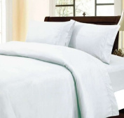 600 Thread Count Egyptian Cotton Solid White Full XL Sheet Set
