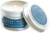 K. Hall Designs Shoreline Travel Candle in Tin