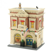Department 56 Christmas in The City Village Precinct 56 Police Station Lit House, 21cm
